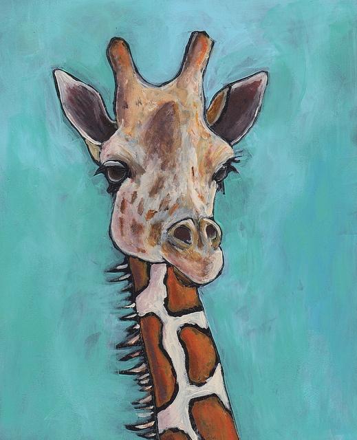 Giraffe by jburns711, via Flickr