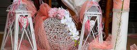 Ξύλινα Φαναράκια και Μπαμπού Μπάλες για το στολισμό του γάμου!