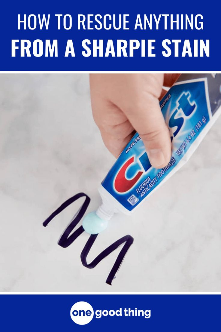 How to remove permanent marker from anything cleaning