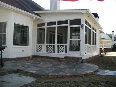 4 just a photo with roofline and ideas screened porch for Shed roof screened porch plans