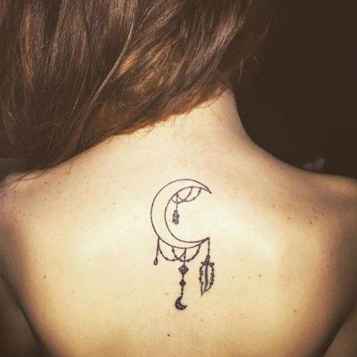 Tatuaggi con la luna e le fasi lunari: foto e significato