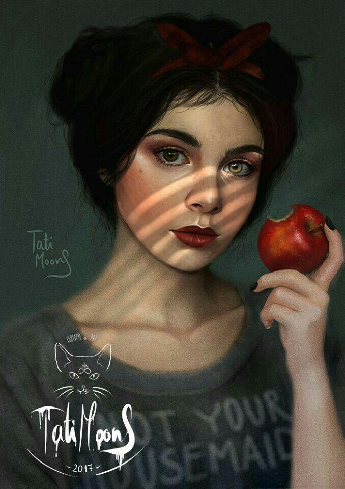 Modern Day Snow White By Tati Moons Modern Disney Realistic Disney Princess Disney Princess Modern