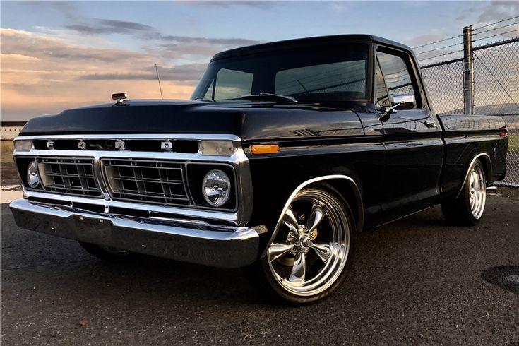 Verkauft Bei Scottsdale 2017 Warennummer 1663 1974 Ford F 100