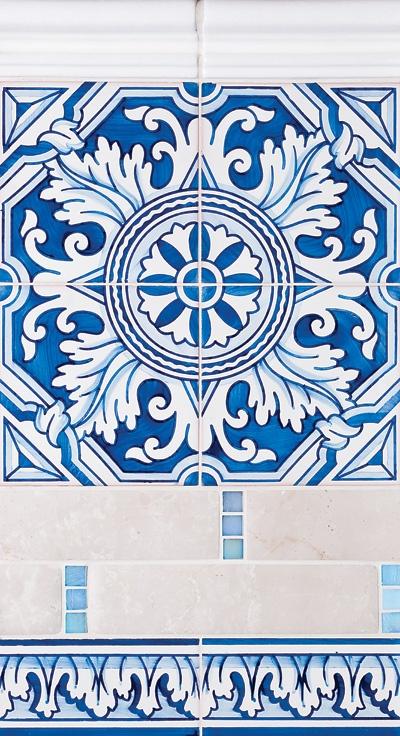 Miradouro Portuguese Ceramic Tiles - Concept 7