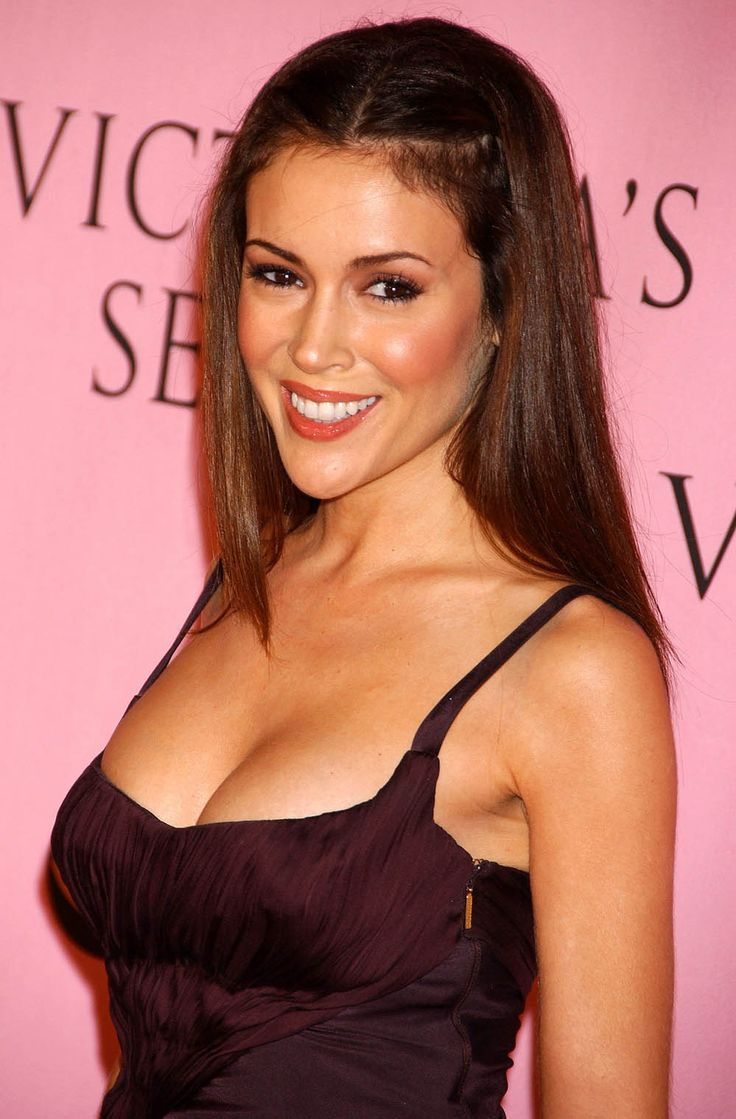 Alyssa Milano, in Romantic Plum.  (Google Image Result for http://www.dotting.me/en/images/photos/84/rwhwcqtq.jpg)