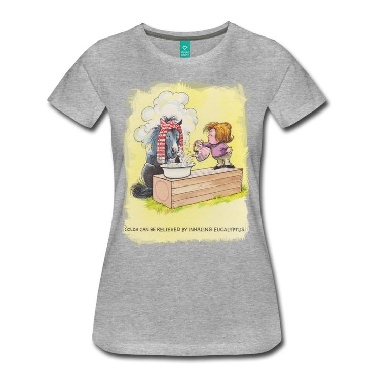 >> Click to Buy << Thelwell Horse Inhaling Eucalyptus Women's T-Shirt Women T Shirt Short Funny Tees Hot Selling T Shirt 2017 New Arrival #Affiliate