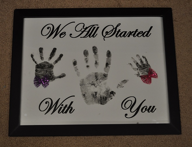my mothers day gift from my son, daughter in law  and grandaughters