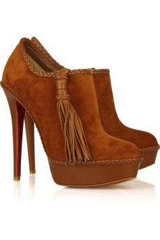 suede and tassels from Louboutin