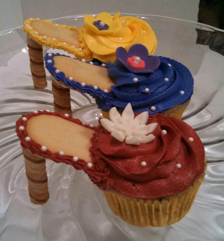 Stiletto+Cupcakes+Recipe | Stilettos cupcake shoes