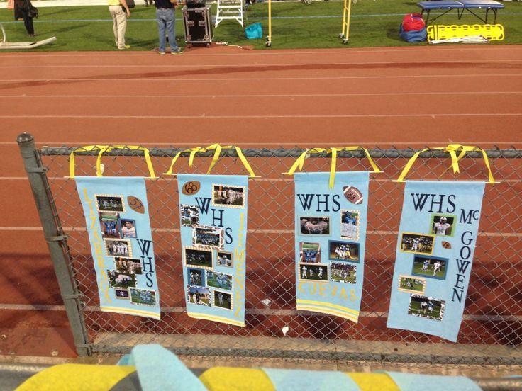 Football Senior Night Banners Soccer