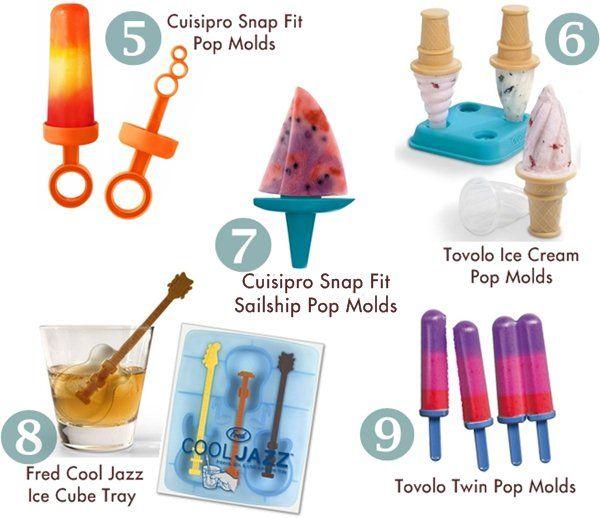 Best Popsicle Molds for Homemade Organic Ice Pops