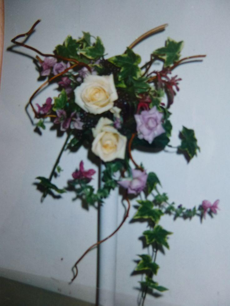 Antique Rose Wedding Bouquet made by Kent Florist Mikiko Inoue