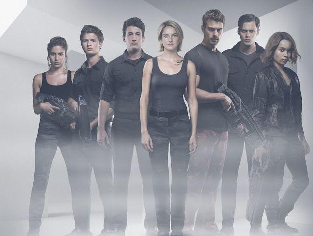 Mira el trailer final de Divergente la Serie: Leal #cine #trailer #poster