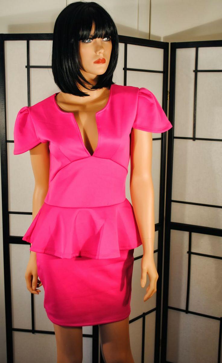 Sexy V-Neck Ruffle Mini Dress