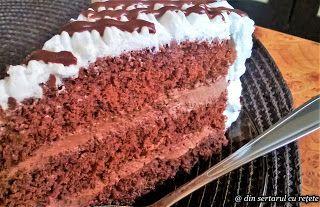 DIN SERTARUL CU REȚETE: Tort de ciocolată
