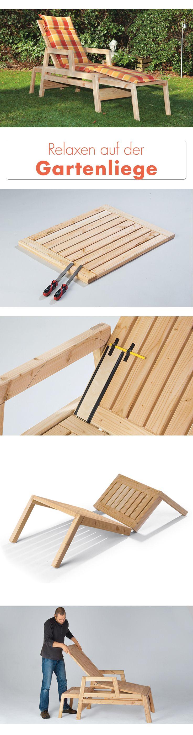 25+ Best Ideas About Liegestuhl Holz On Pinterest | Chaiselongue ... Design Gartenliegen Relaxen Freien