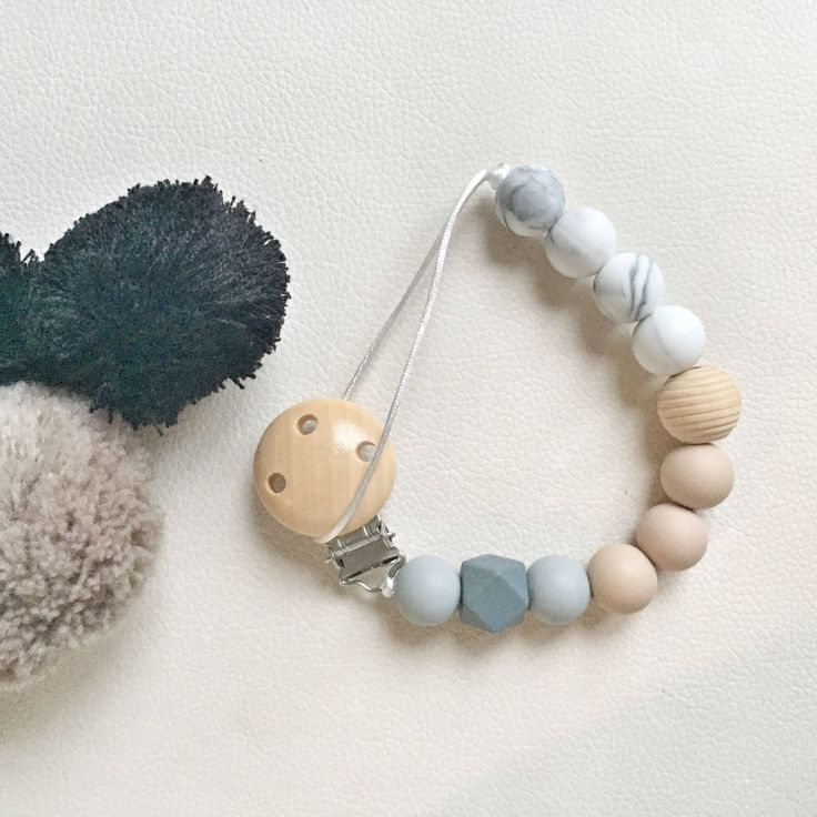 A personal favourite from my Etsy shop https://www.etsy.com/ie/listing/539071028/pacifier-clipsilicone-beads-nursing-clip