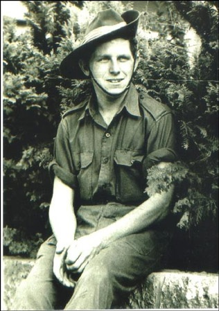 Korean War : Eddie Wright, as a 20-year-old serving in the Korean War.....A nice article about Anzac Day