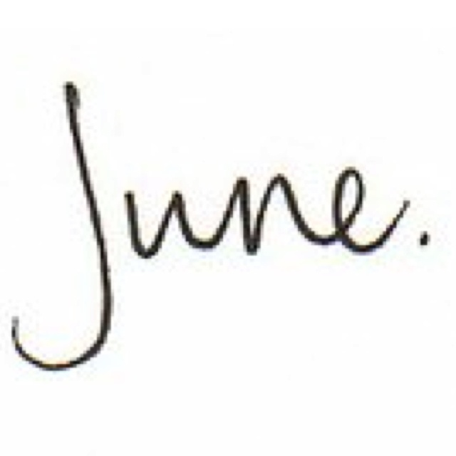 BORN: Tamy June WilliamsFavorite Month, Favorite Things, Ahhh Summer