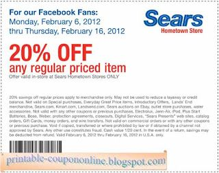 9 best coupons images on pinterest coupon codes free coupons and free printable sears coupons fandeluxe Gallery