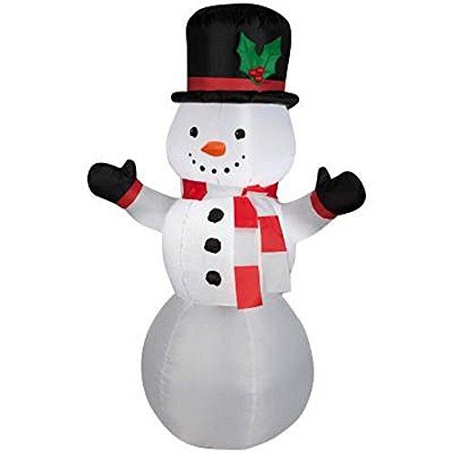 Gemmy 3.5 Ft. LED Airblown Inflatable Outdoor Snowman