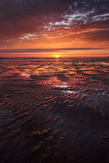 Sunset, Channel Islands, United Kingdom