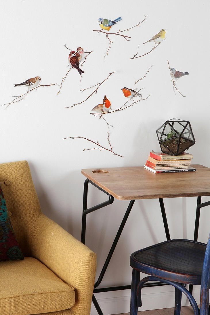 Flying bird wall stickers <3. See More. Chirp chirp. #urbanoutfitters