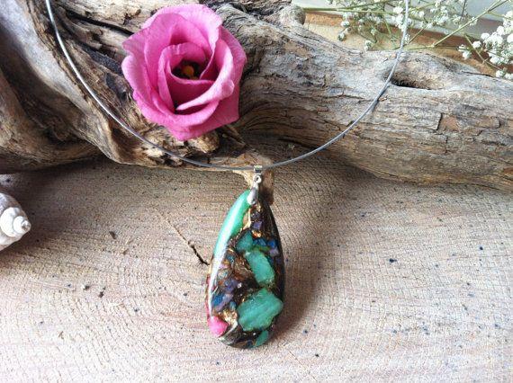 Mooie aventurijn en amber jade druppel traan door Expressingbeauty