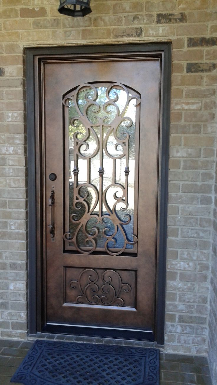 60 best wrought iron doors images on pinterest wrought iron custom wrought iron door aaleadedglass rubansaba