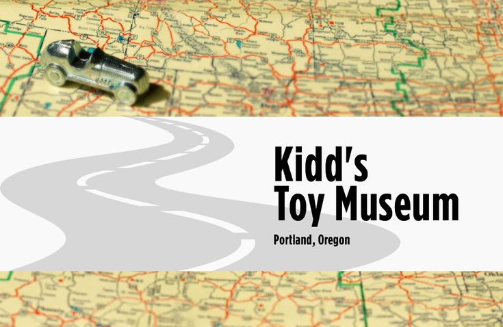 Kidd's Toy Museum features the personal collection of Frank Kidd, an avid toy collector. #vintagetoys