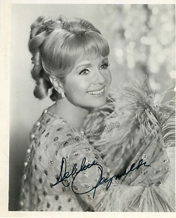 American actress, dancer and singer (b.1932), active from 1948 through present, Reynolds has participated in tens of movies and is a noted collector of film memorabilia. Signed photo, 4 x 5 inches, ex