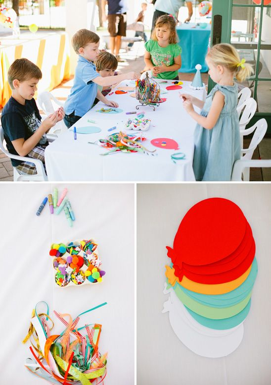 Super cute Balloon Themed Birthday Party with great ideas!!