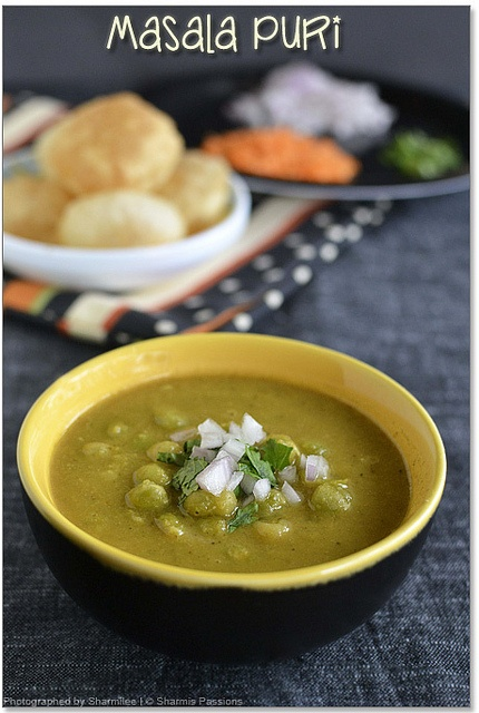 Bangalore Style Masala Puri : be sure to try this! It worked really well for me. Yumm!