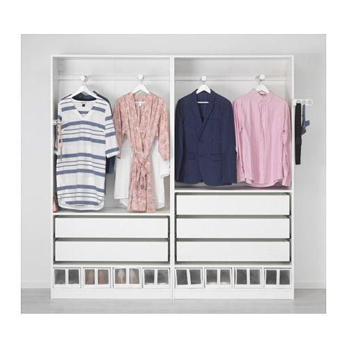 PAX Wardrobe white, Reinsvoll Vikedal in 2019 Ikea pax