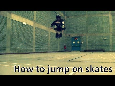 How to jump on roller skates - Derby | Quads | Jum - YouTube  I suck at jumping... need to practice more!