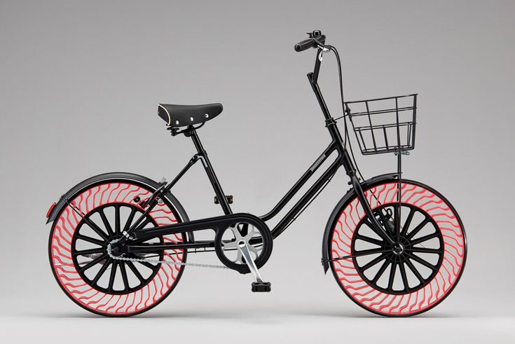 Bridgestone Tires has developed the next-generation bicycle tire using the Air Free Concept which can be used without being inflated with air