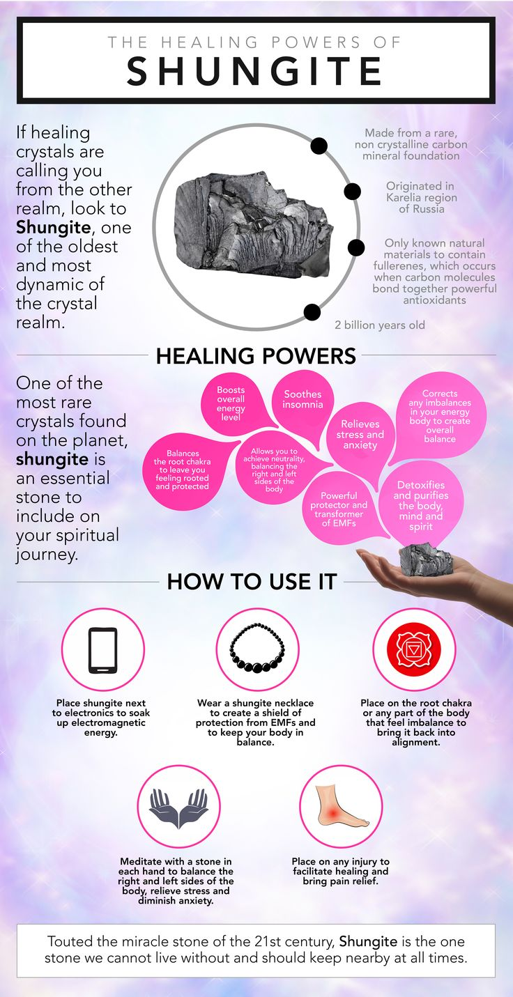 Touted the miracle stone of the 21st century, wake up and realize Shungite's healing potential! From pain relief to EMF protection, which of the shungite benefits are you seeking?