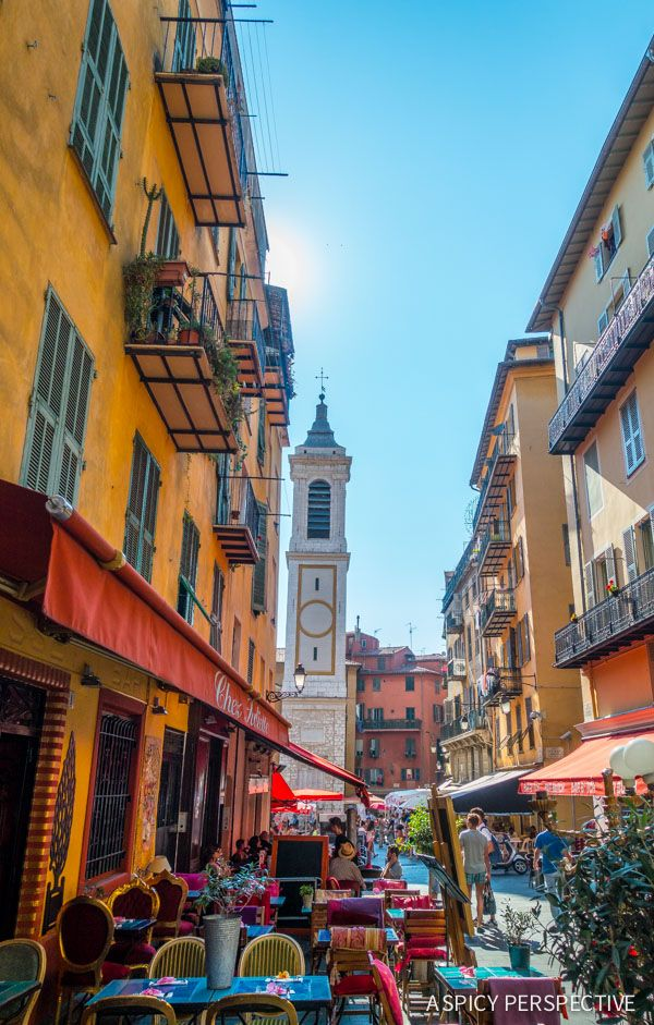 Where to go and what to do in Nice, France. A personal journey through the French Riviera with tips on where to stay, where to eat, and Nice, France weather