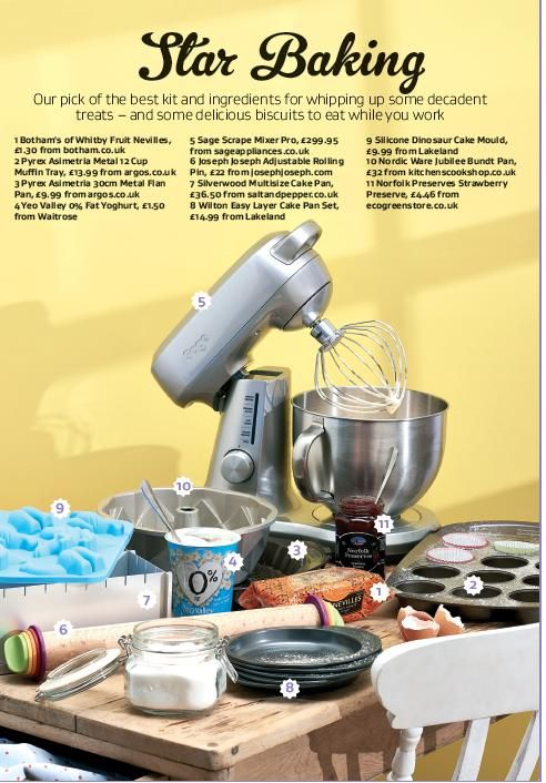 Star Baker- Great British Food Magazine