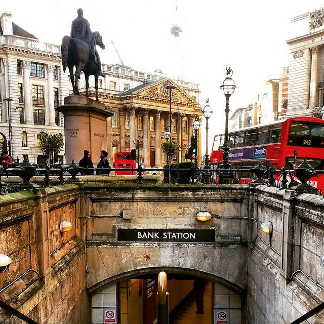 Bank Underground Station, City of London