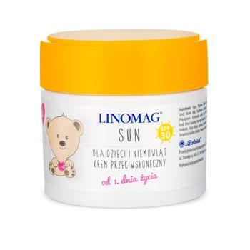 Skóra wrażliwa, sucha i alergiczna.  Dla dzieci i niemowląt od 1. dnia życia.  Emolient na bazie oleju lnianego.