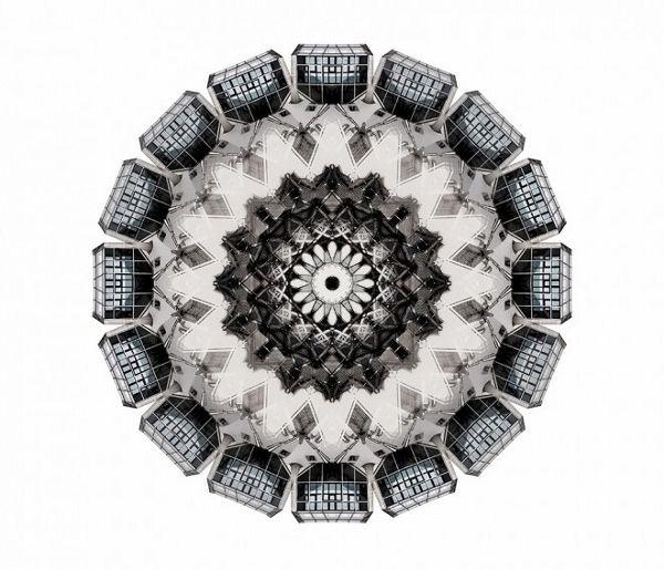 Captivating Photographs Of Architectural Kaleidoscopes - DesignTAXI.com