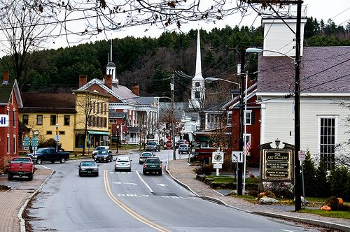 Downtown Stowe, Vermont
