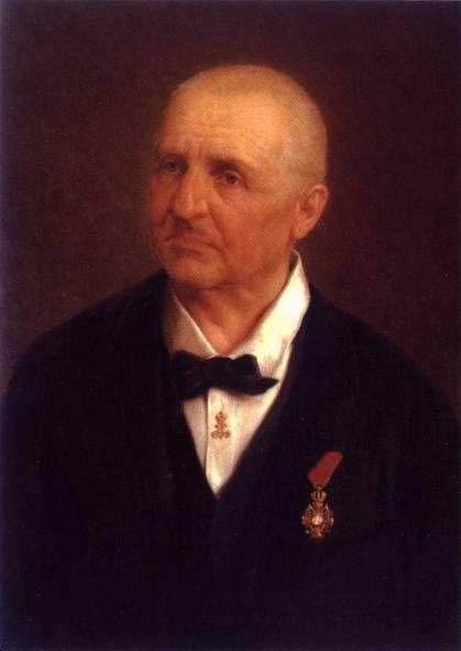 Anton Bruckner (1824-1896), painting (1893), by Josef Büche (1848-1918).