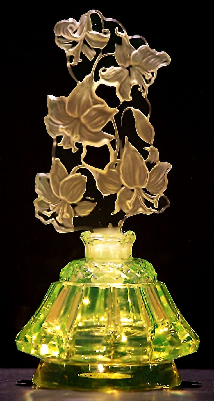 Uranium Flowering Meadow Signed Perfume Bottle | eBay