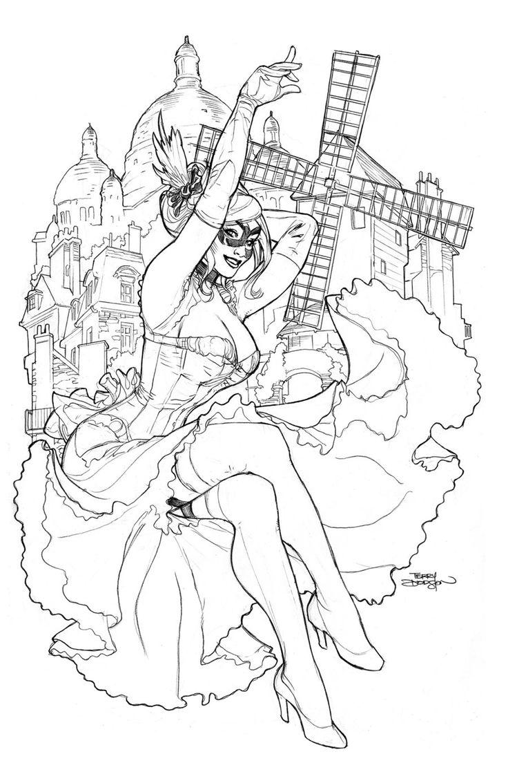 138 best comics terry dodson images on pinterest coraline