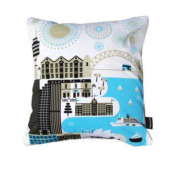 Sydney Cushion Cover - Australian Made Gifts & Homewares Bits of Australia