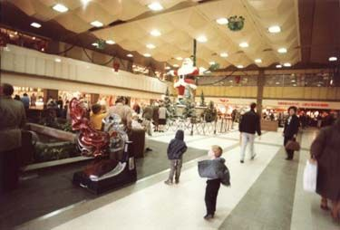 Broadmarsh Shopping Centre Christmas Decorations, 1985