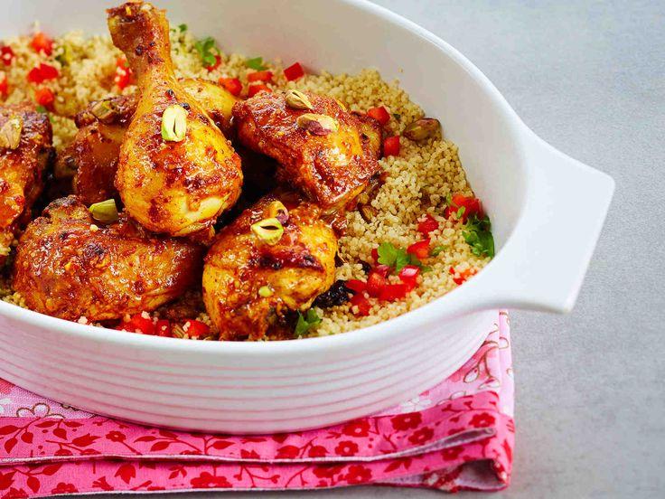 Marokkolainen uunibroileri - Reseptit