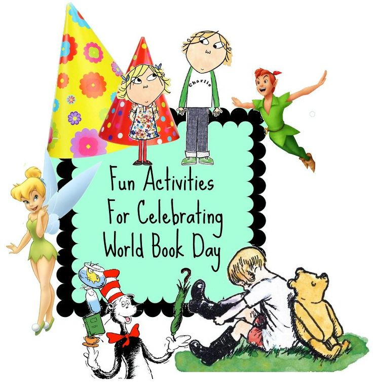 Fabulous Ideas For World Book Day {PlayLearning} | Diary of a First Child